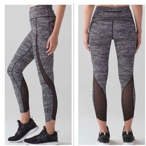 Lululemon Pace Perfect 7/8 Tights Air Time 8